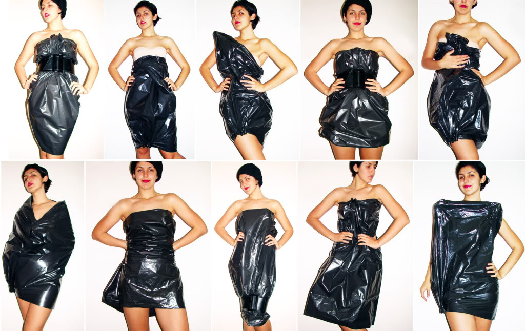 6 Ideas For Halloween Costumes Using A BIN BAG!