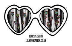 Love Specs blue