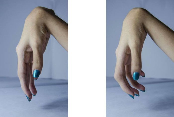 Audrey hands