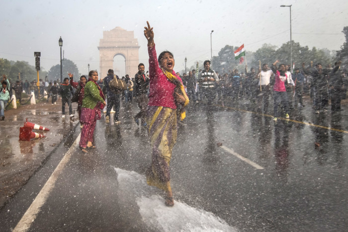 Protests In New Delhi Against Current Rape Laws
