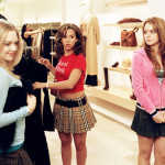MEAN GIRLS, Amanda Seyfried, Lacey Chabert, Lindsay Lohan, 2004, (c) Paramount/courtesy Everett Coll